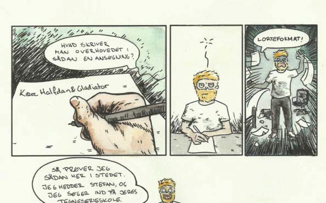 Ansøgning til tegneserieskole